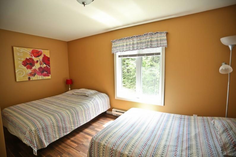 Location de vacances - Chalet à Shawinigan - 4520- chambre,chalet 2 chambres