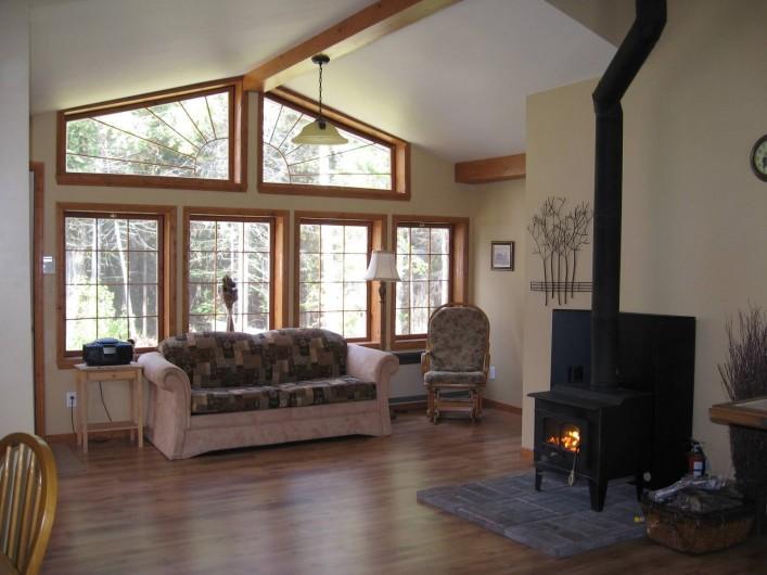 Location de vacances - Chalet à Shawinigan - 4400-Salle séjour