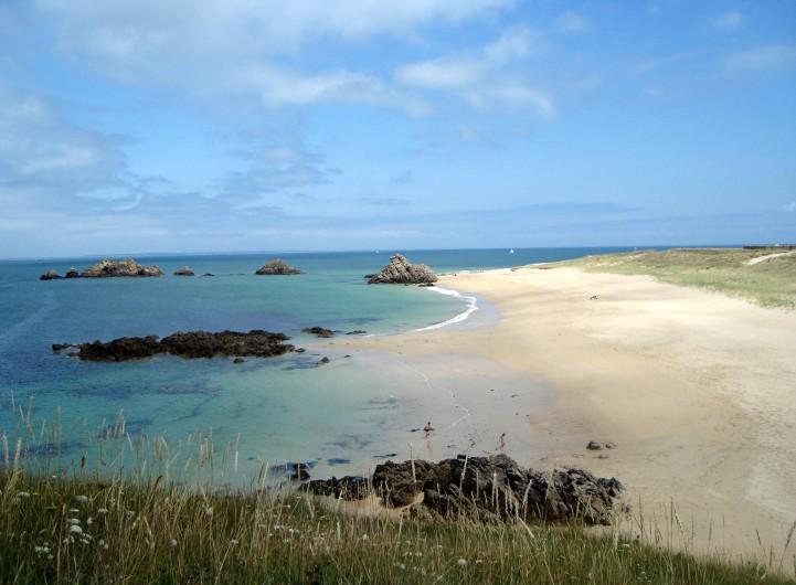 Location de vacances - Camping à Sarzeau - Plage de l'île de Houat.