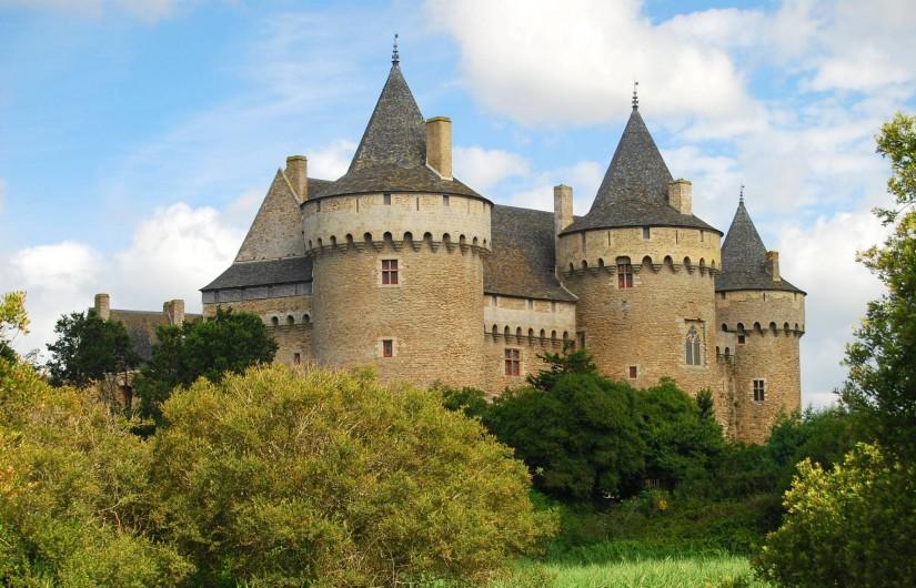 Location de vacances - Camping à Sarzeau - Château de Suscinio à 3 km du camping de Lann Hoedic