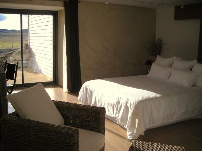 Location de vacances - Chambre d'hôtes à Nasbinals - Chambre Marchastel