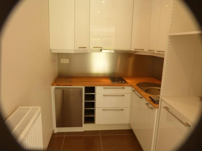 Location de vacances - Appartement à Hardelot-Plage - cuisine équipée