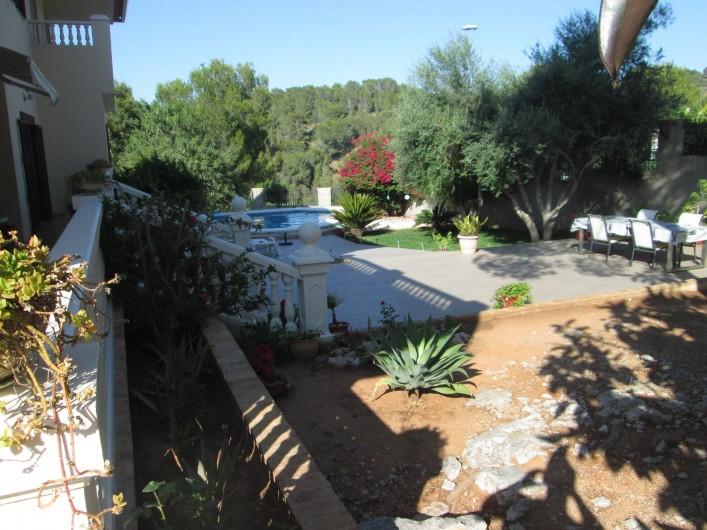 Location de vacances - Appartement à Carcaixent - Partie du jardin