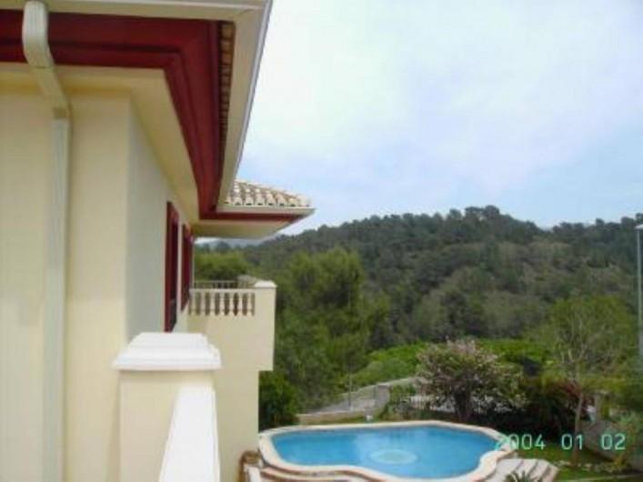 Location de vacances - Appartement à Carcaixent - Vue  balcon 1