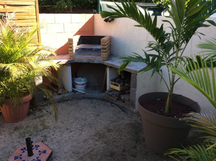 Location de vacances - Maison - Villa à Saint-Gilles les Bains - Coin barbecue