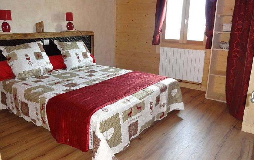Location de vacances - Chalet à Saint-Nicolas-la-Chapelle - 1 chambre avec lit 160*200