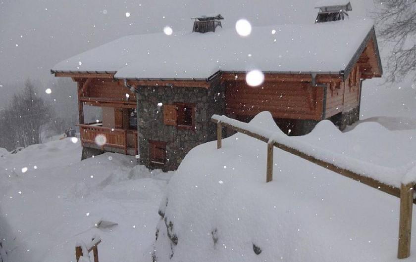 Location de vacances - Chalet à Saint-Nicolas-la-Chapelle - Face Nord