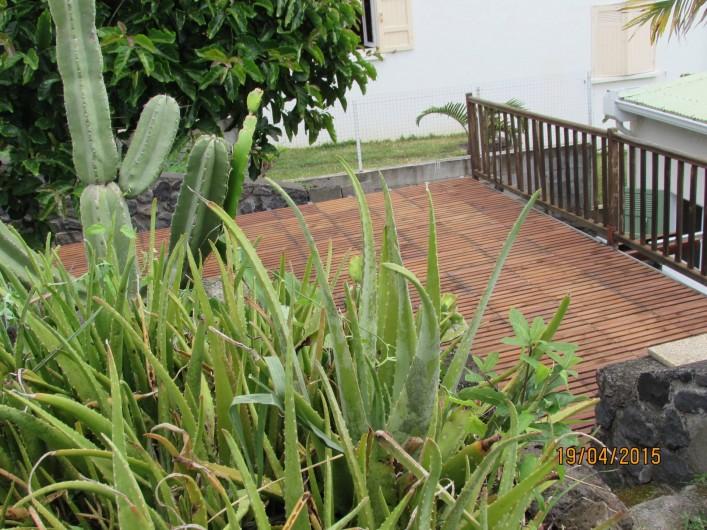 Location de vacances - Villa à Bois De Nèfles - Terrasse zen