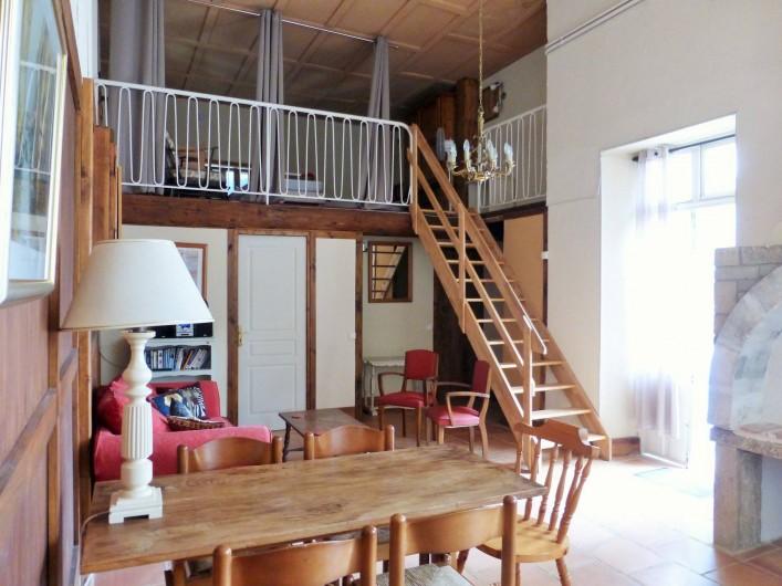 Location de vacances - Gîte à Branoux-les-Taillades - Les Citronniers (5 pers); salon