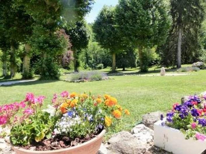 Location de vacances - Gîte à Branoux-les-Taillades - Parc du Château
