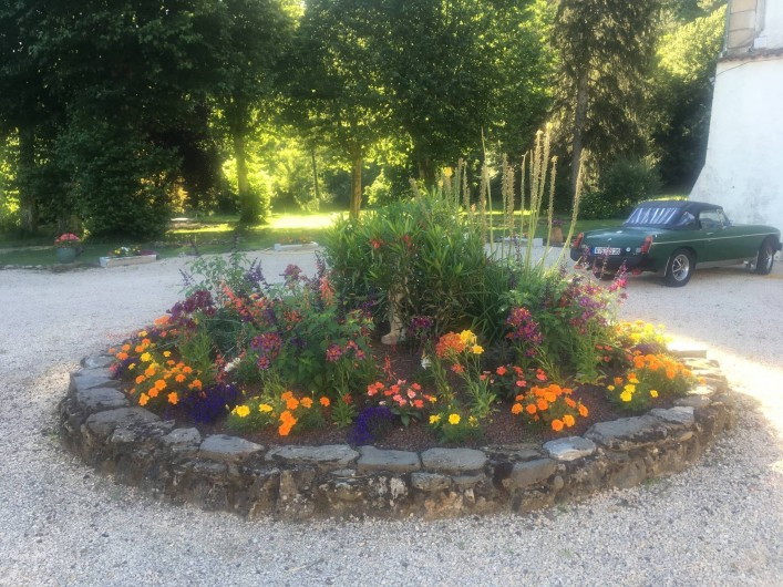 Location de vacances - Gîte à Branoux-les-Taillades - Le parc du Château