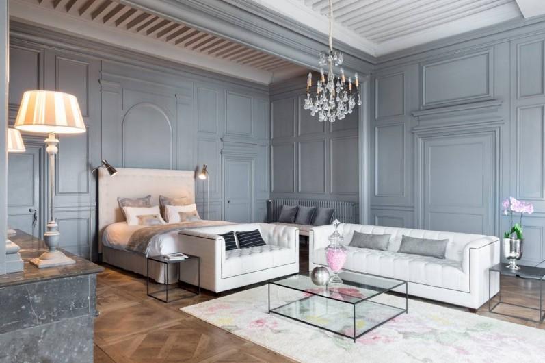 Location de vacances - Chambre d'hôtes à Pierreclos - La suite des Comtes
