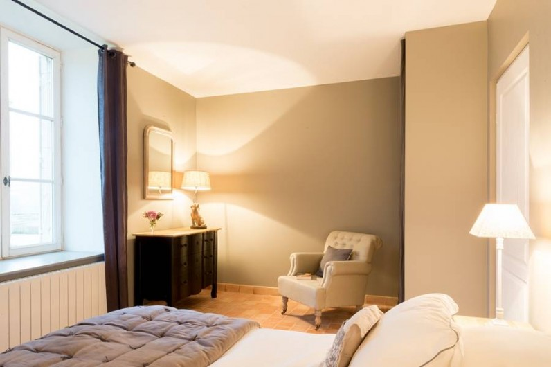 Location de vacances - Chambre d'hôtes à Pierreclos - Chambre Anne & Jean