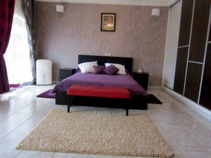 Location de vacances - Appartement à Yaoundé - Chambre PRINCIPALE DAHLIA