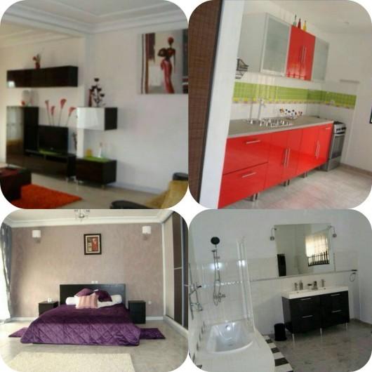 Location de vacances - Appartement à Yaoundé - Appartement Dahlia 3 Chambres