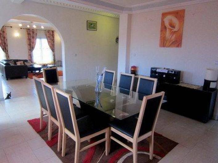 Location de vacances - Appartement à Yaoundé - Salle à manger Appartement Dahlia 3 ch