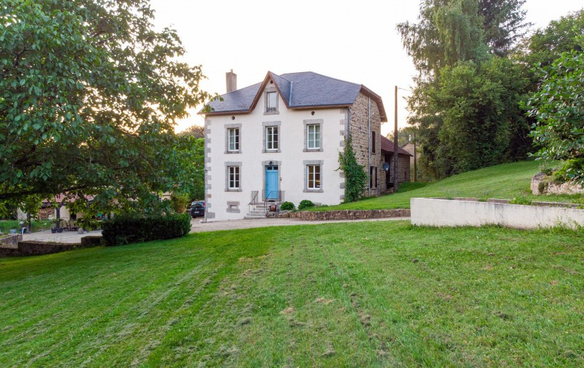 Location de vacances - Villa à Saint-Moreil - le manoir