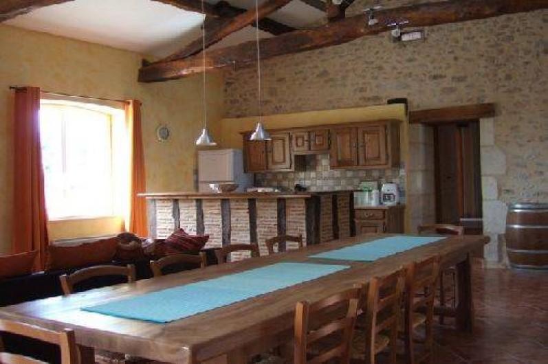 Location de vacances - Gîte à Saint-Méard-de-Gurçon - cuisine americaine