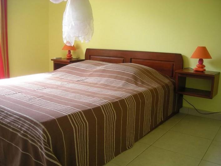 Location de vacances - Bungalow - Mobilhome à Deshaies - Chambre du gite Havane