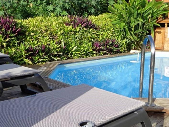 Location de vacances - Bungalow - Mobilhome à Deshaies - Piscine