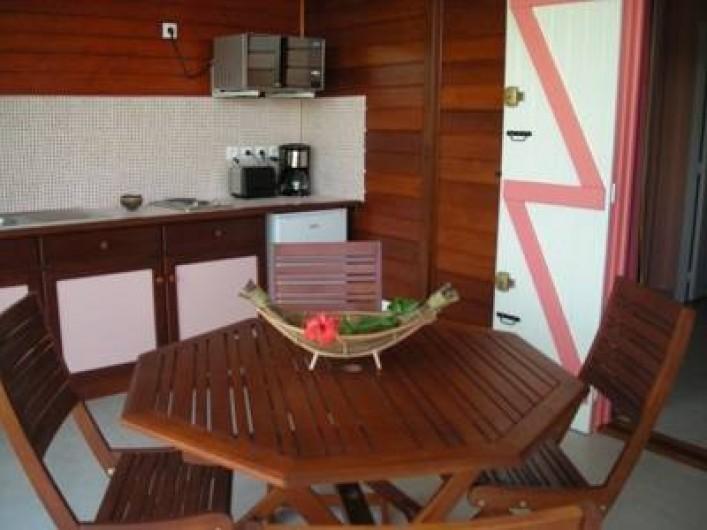 Location de vacances - Bungalow - Mobilhome à Deshaies - Gite Corail