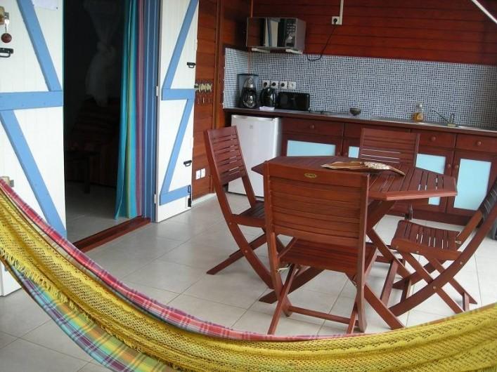 Location de vacances - Bungalow - Mobilhome à Deshaies - Gite Indigo