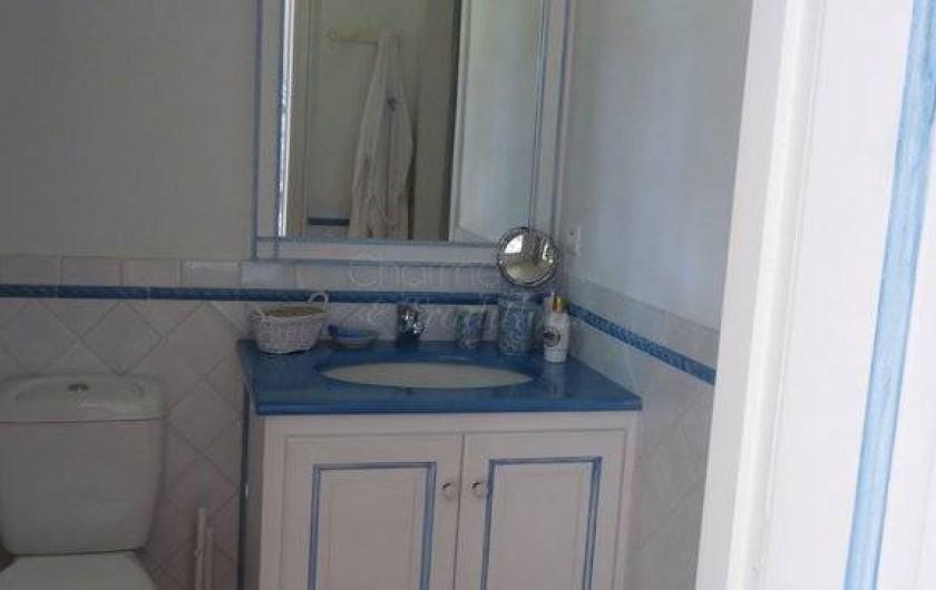 Location de vacances - Chambre d'hôtes à Saint-Tropez - Salle d'eau chambre Alma