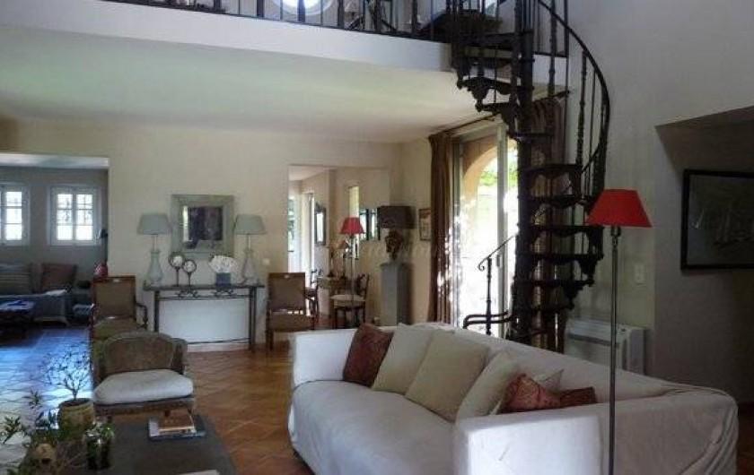 Location de vacances - Chambre d'hôtes à Saint-Tropez - Salon