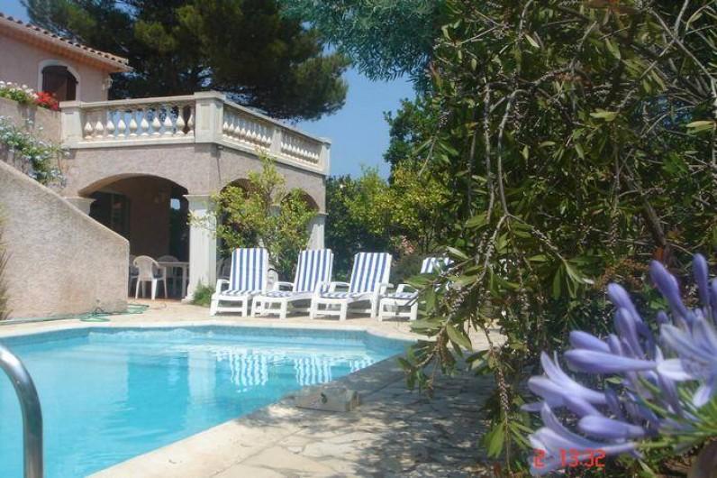 Location de vacances - Villa à Saint-Aygulf