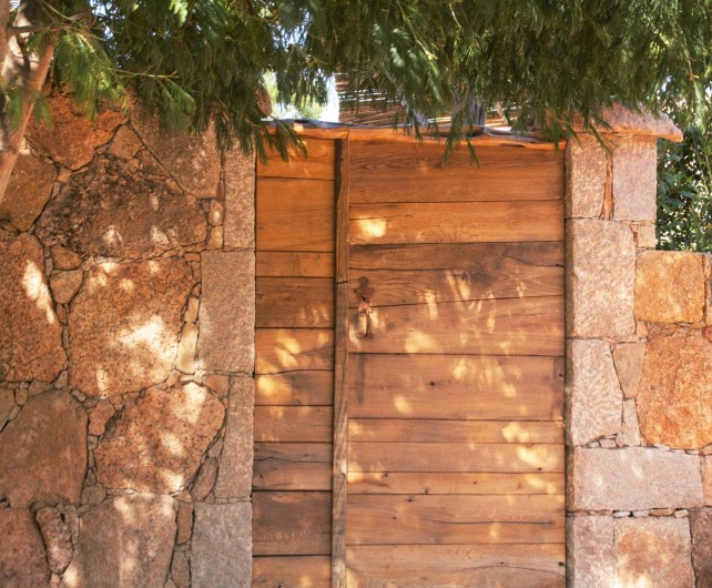 Location de vacances - Villa à Porto-Vecchio - Entrée côté piscine villa ardiadoro la villapiana bocca di l'oru