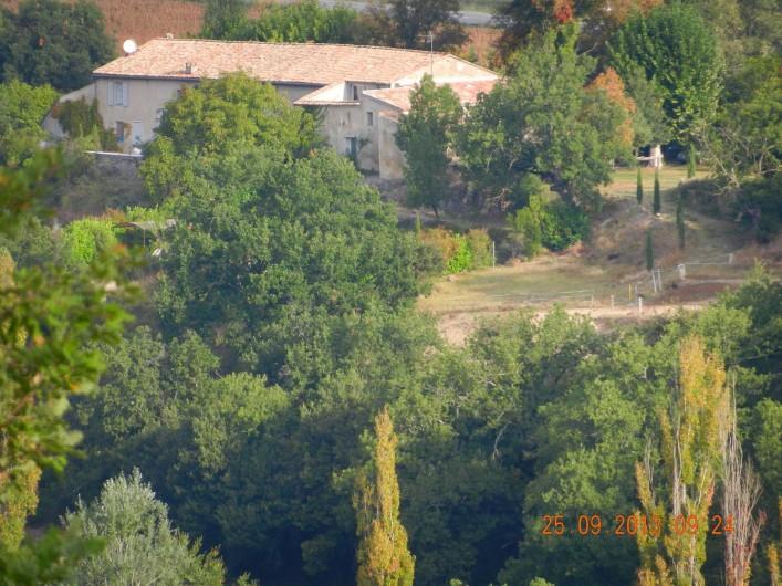 Location de vacances - Chambre d'hôtes à Niozelles - le relais d'elle dans sa nature