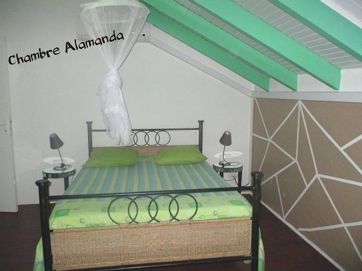 Location de vacances - Villa à Vieux Fort - Vue de la chambre Alamanda - 14 m²