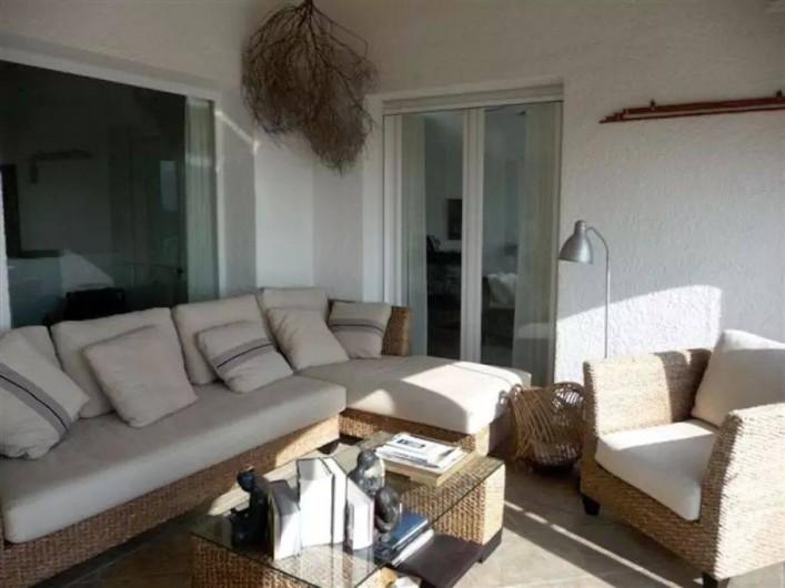 Location de vacances - Villa à El Poble Nou de Benitatxell - Terrasse supérieure