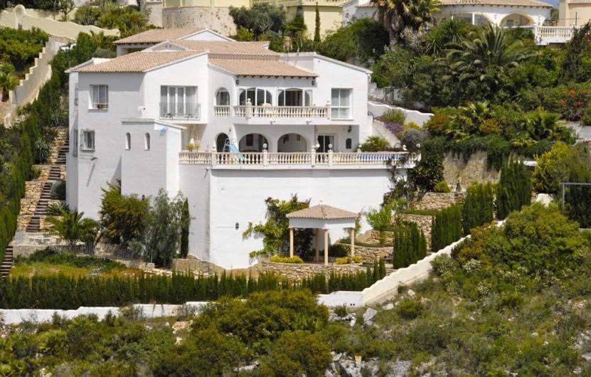Location de vacances - Villa à El Poble Nou de Benitatxell - Vue avt travaux 2018