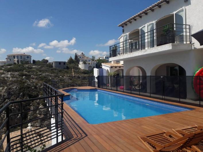 Location de vacances - Villa à El Poble Nou de Benitatxell - Changements 2018