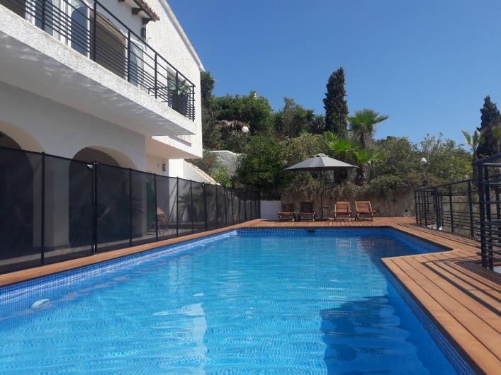 Location de vacances - Villa à El Poble Nou de Benitatxell - Piscine 2018 + protection enfants