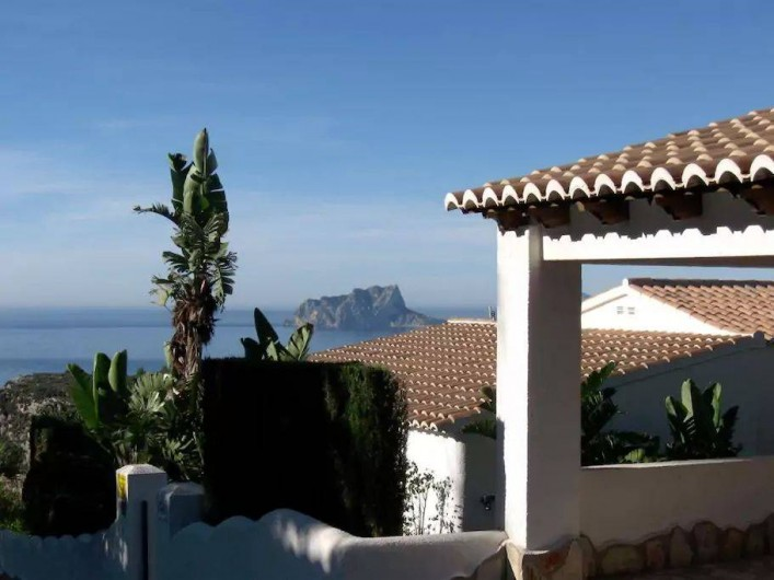Location de vacances - Villa à El Poble Nou de Benitatxell - Vue Mediteranée