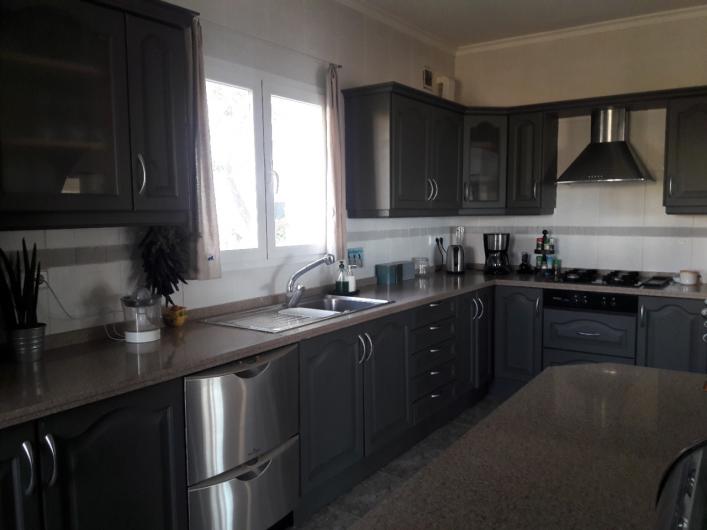 Location de vacances - Villa à El Poble Nou de Benitatxell - Cuisine principale 2018