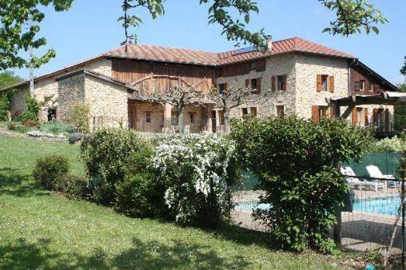 Location de vacances - Chambre d'hôtes à Saint-Lattier - notre maison