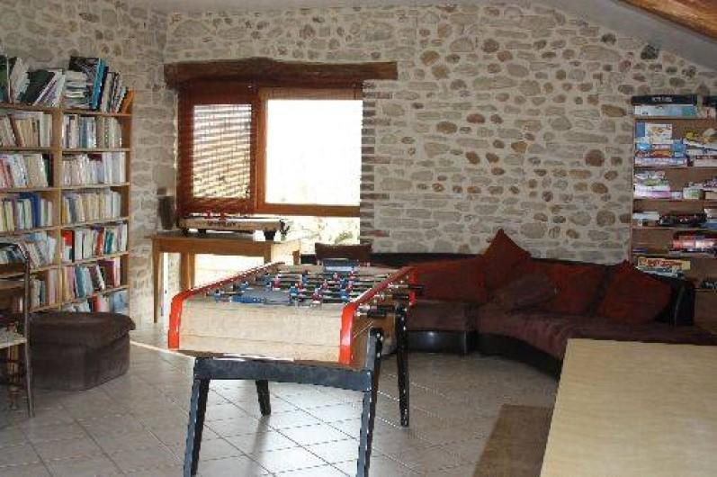 Location de vacances - Chambre d'hôtes à Saint-Lattier - salle de jeux