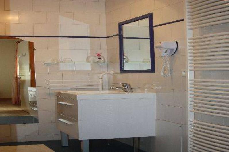 Location de vacances - Chambre d'hôtes à Saint-Lattier - salle de bain