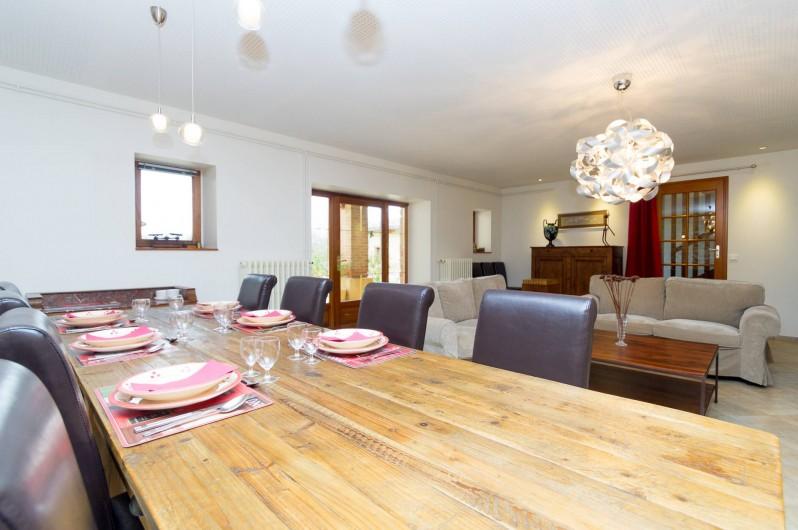Location de vacances - Chambre d'hôtes à Saint-Lattier - la salle à manger