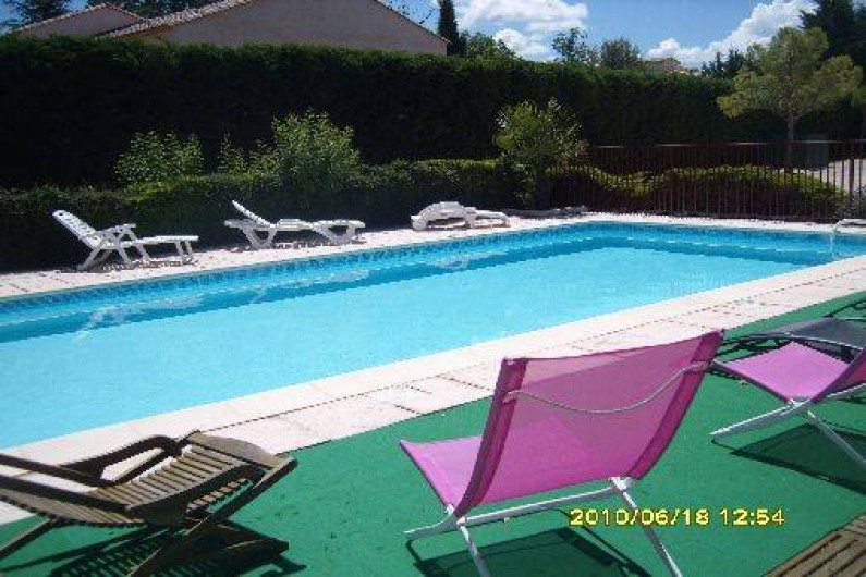 Location de vacances - Chalet à Potelières