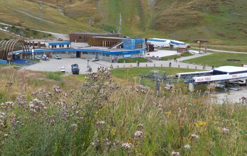Location de vacances - Appartement à Tignes - départ au glacier l'été