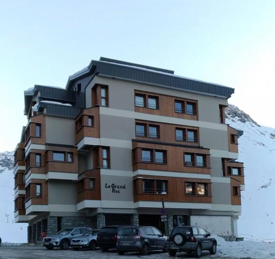 Location de vacances - Appartement à Tignes - immeuble Le Grand Roc