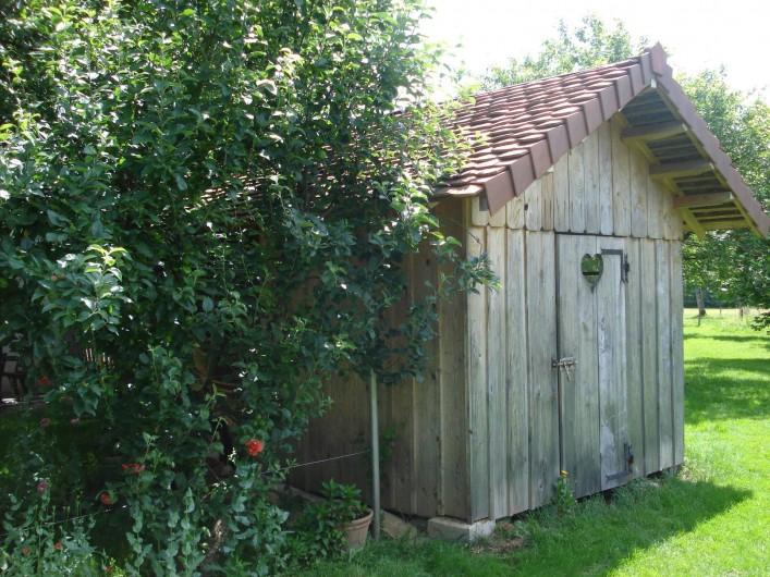 Location de vacances - Gîte à Esprels - la cabane de jardin