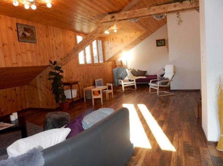 Location de vacances - Hôtel - Auberge à Abries - Salon cocooning