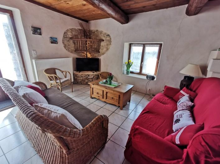 Location de vacances - Gîte à La Livinière - Le salon