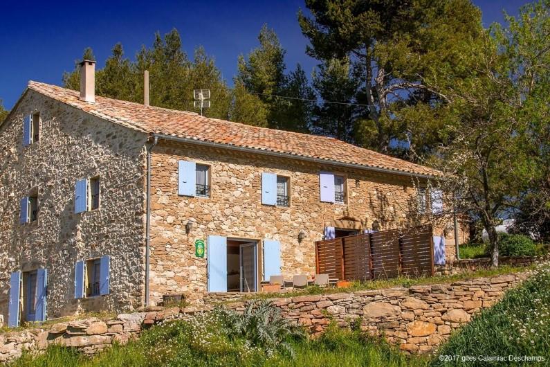 Location de vacances - Gîte à La Livinière - La Bergerie