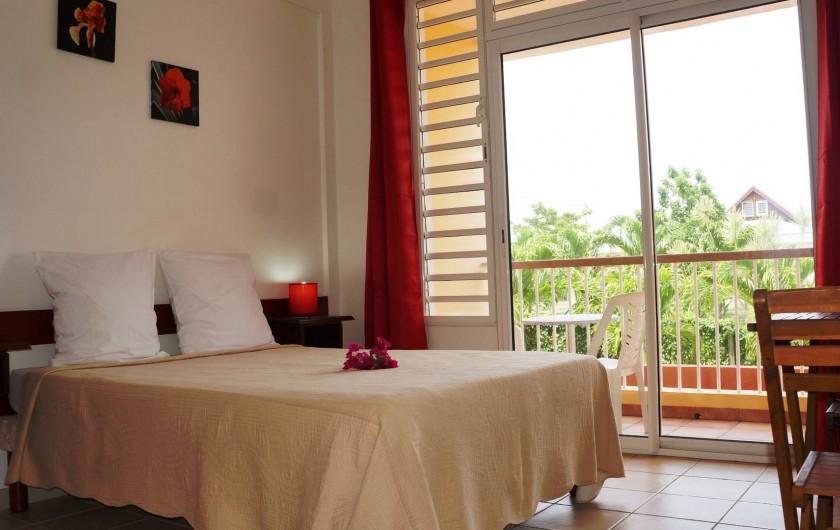 Location de vacances - Studio à Le Vauclin - Résidence Macabou - Studio Exotic ou Studio Coquelicot pour 2 personnes